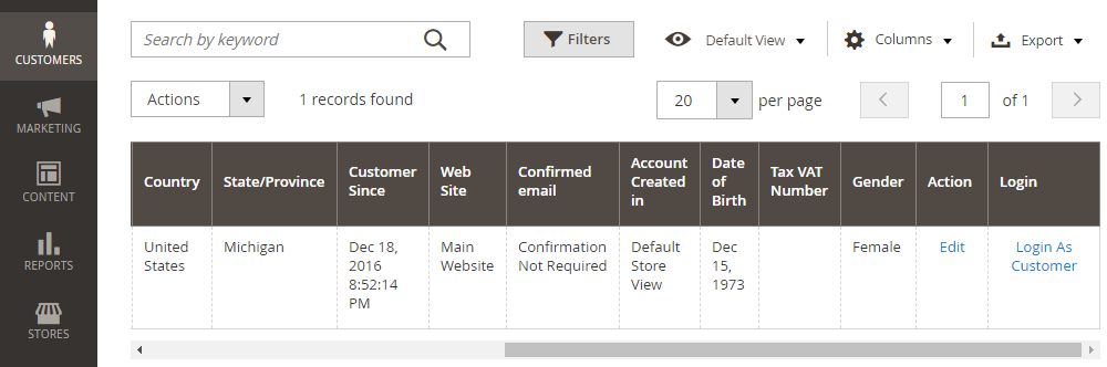 Magento 2 Login As Customer,Customers
