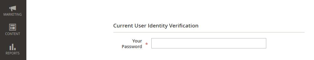 Magento 2 New User,Password