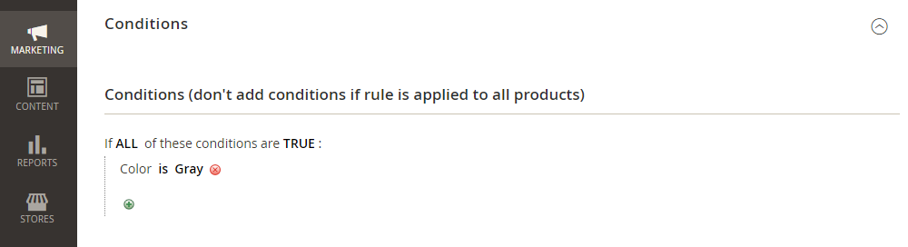 Magento 2 Sales Rules Conditions