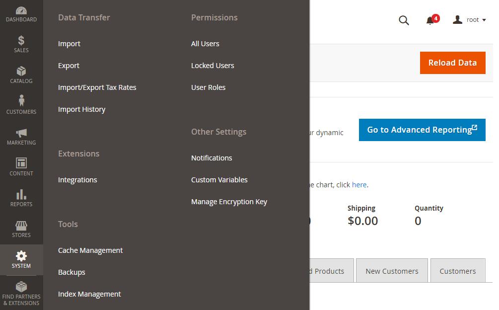 Magento 2 New Customer,Admin Panel